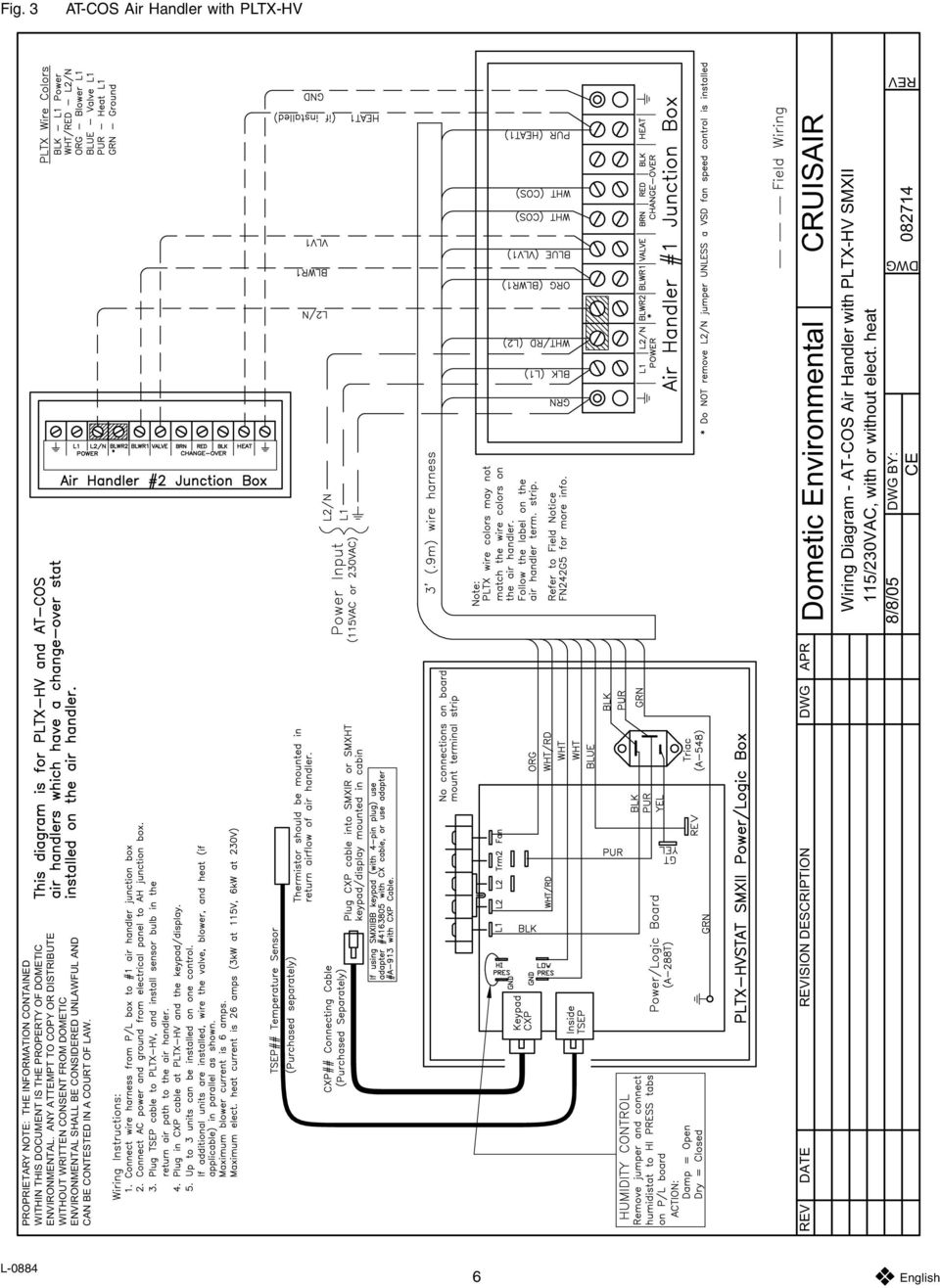 tw air handler wiring diagrams