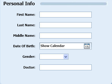 If you are downloading data for a new patient then you must set up new patient s profile. Click on the Add a Patient tab to add a new patient to the database.