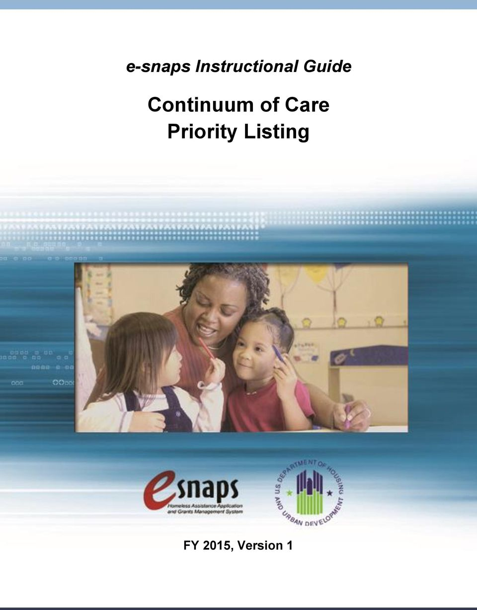 Continuum of Care