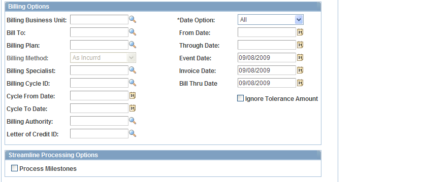 Chapter 13 Processing the Contracts Billing Interface Process As