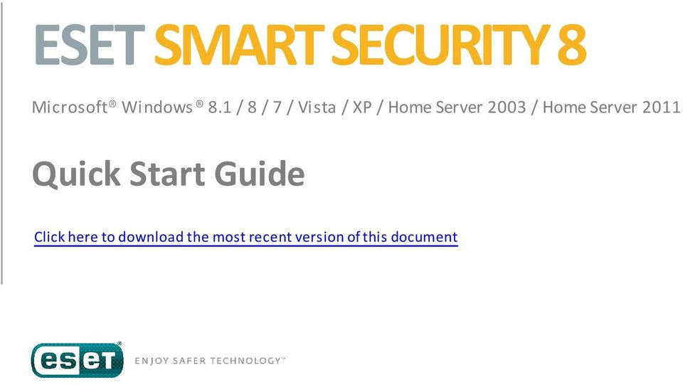 Home Server 2011 Quick Start Guide Click here