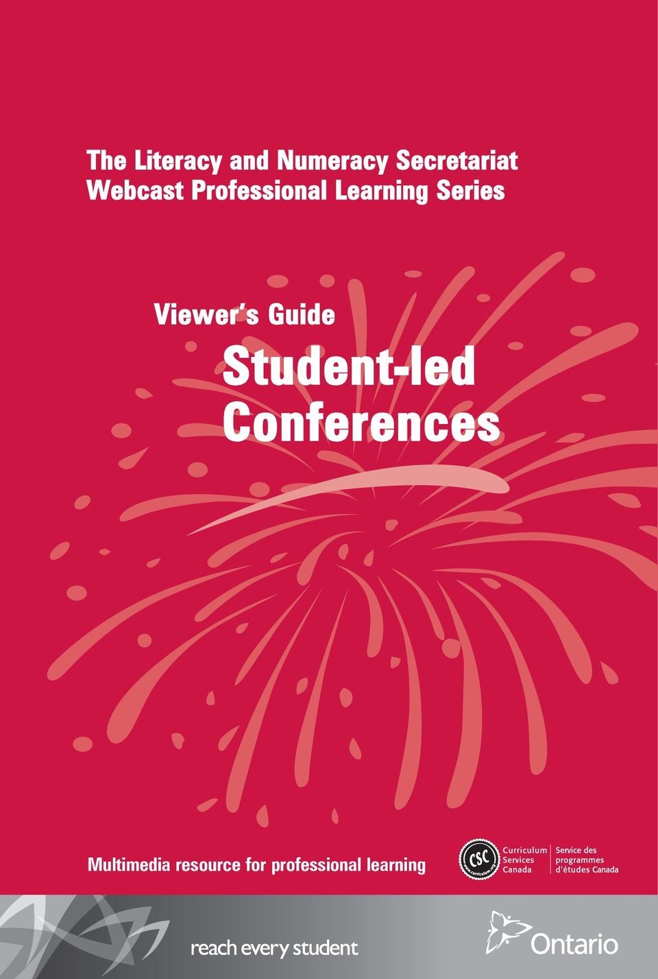 Viewer s Guide Student-led Conferences