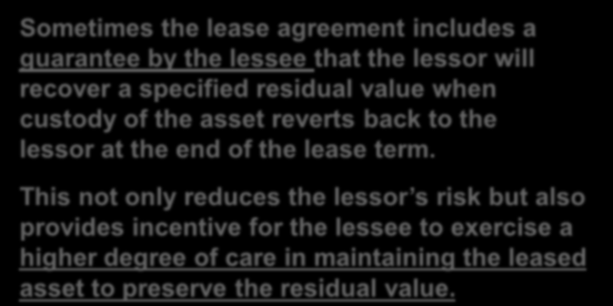 LEASE COSTS AND LEASE PAYMENTS PERI OD 1 2 3 4 FINANCIAL COSTS DEPRECIATION TOTAL COSTS ANNUAL PAYMENT LEASED COSTS Depreciation of leased assets Financial charge (costs) Effect on the Lessee of a