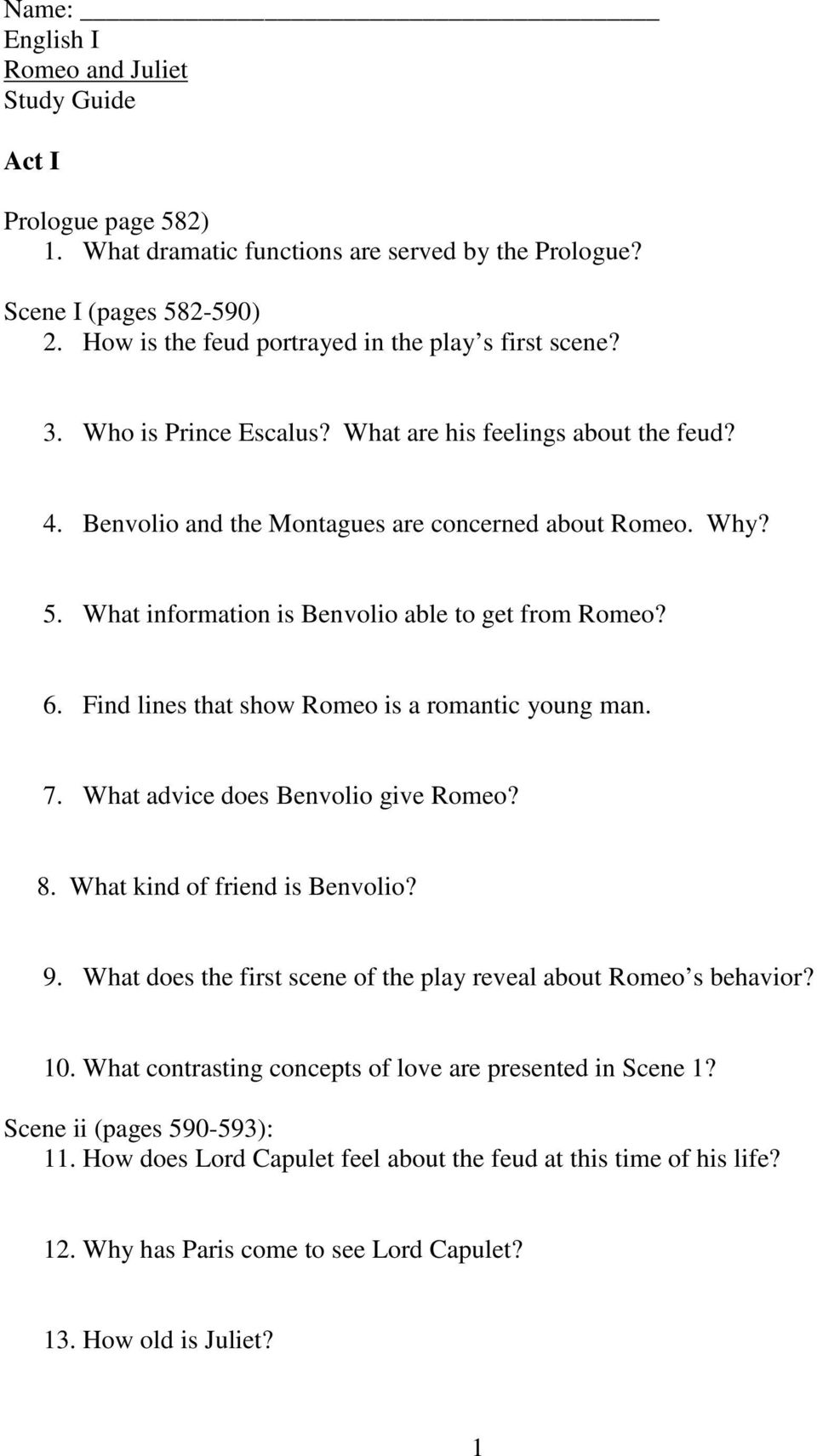 how old was romeo and juliet