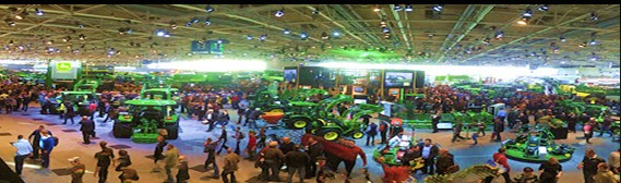 AGRITECHNICA 2015 The world s leading exhibition for agricultural machinery and equipment Departing November 7 to 18, 2015 Tour includes: Frankfurt, Wolfsburg, Hanover, Berlin, Hamburg John Deere