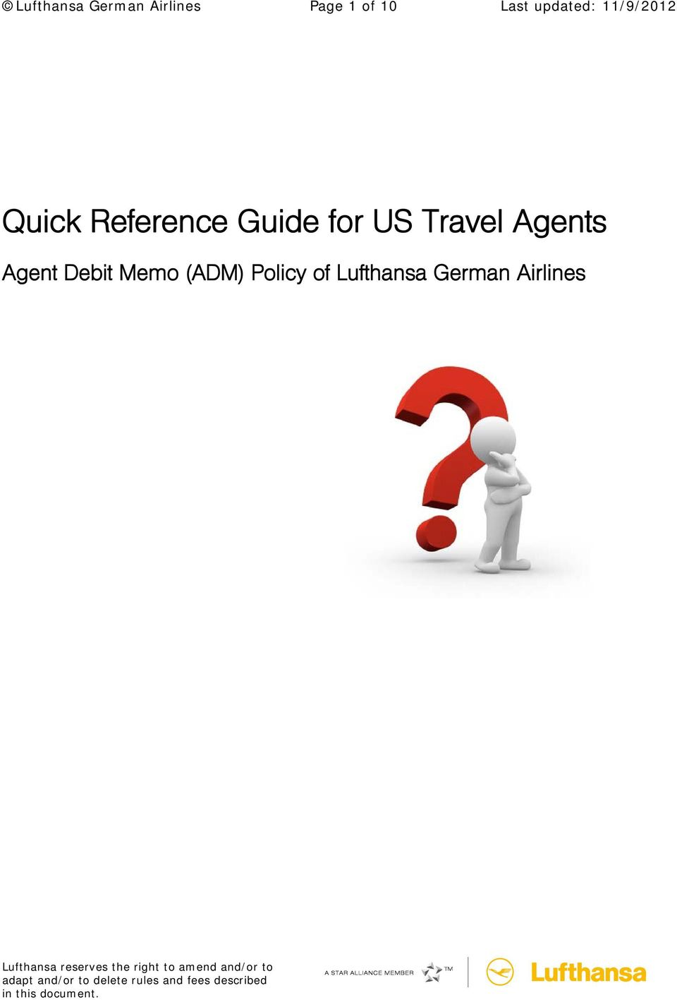 Guide for US Travel Agents Agent Debit