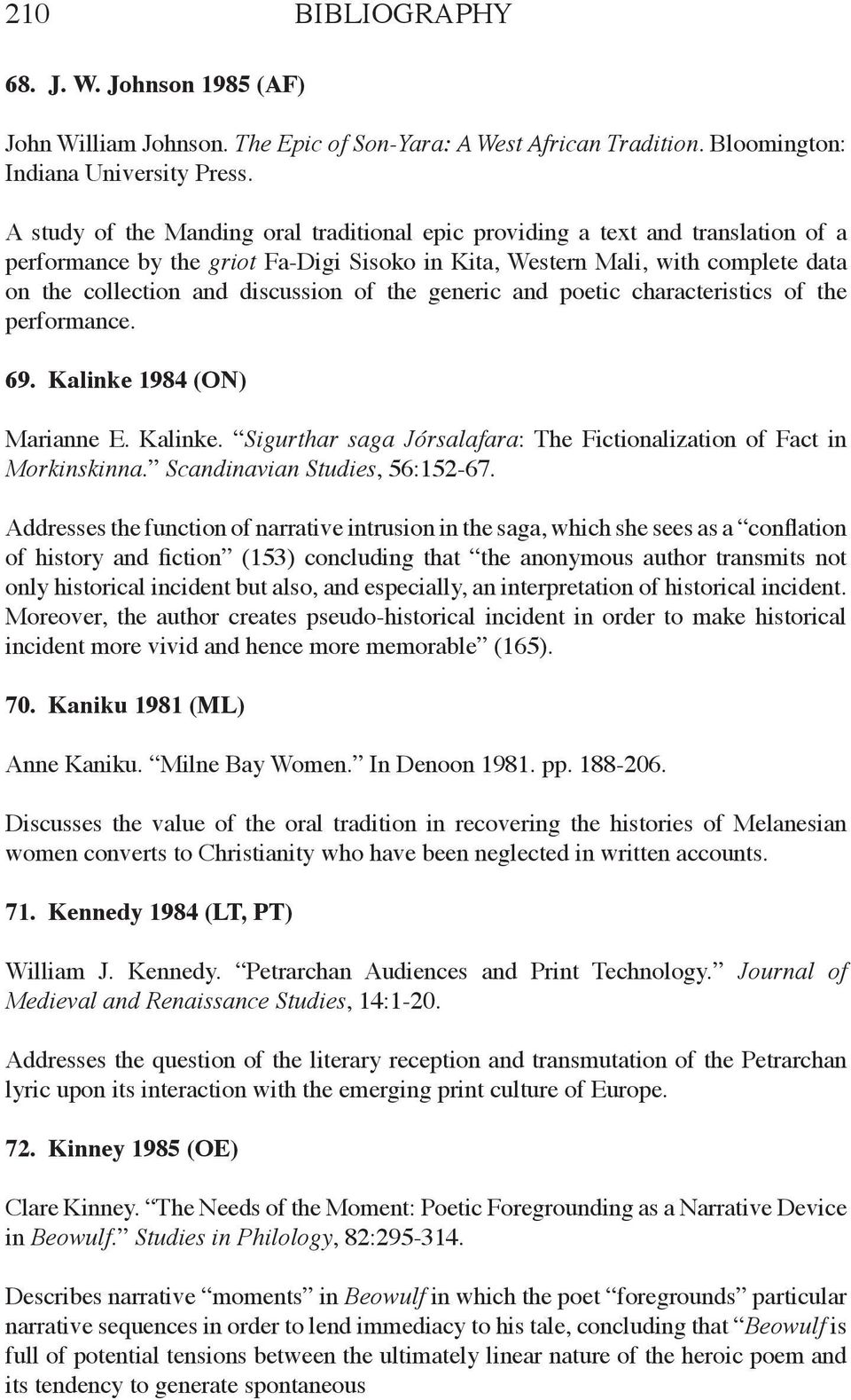 spontaneous remission an annotated bibliography