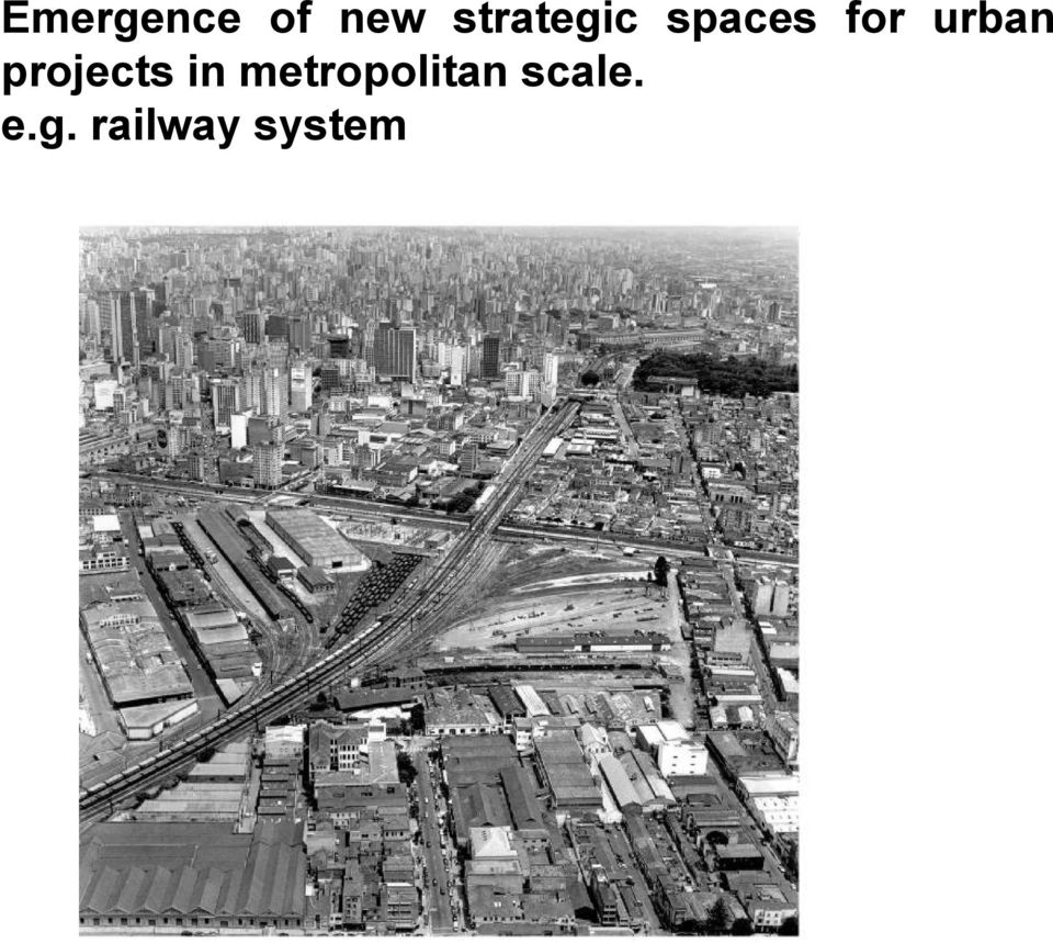 urban projects in