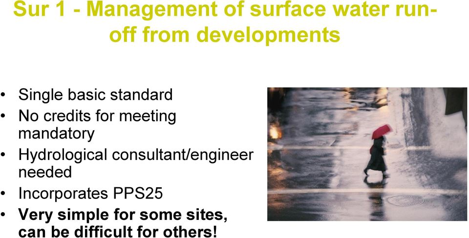 mandatory Hydrological consultant/engineer needed