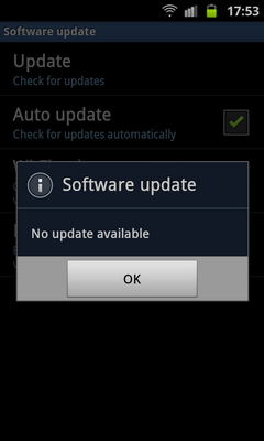 How to obtain the ICS update for the GT-I9100 Q. Can I upgrade my phone to Android SW version Ice Cream Sandwich (ICS) via FOTA? A. The ICS SW upgrade is not currently supported via FOTA.