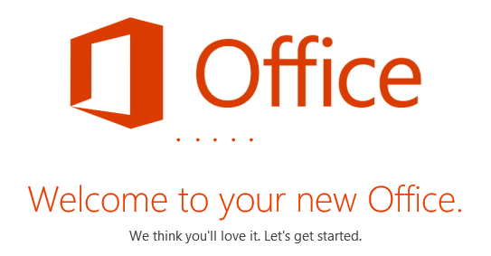If prompted with User Account Control click Yes MS Office will then