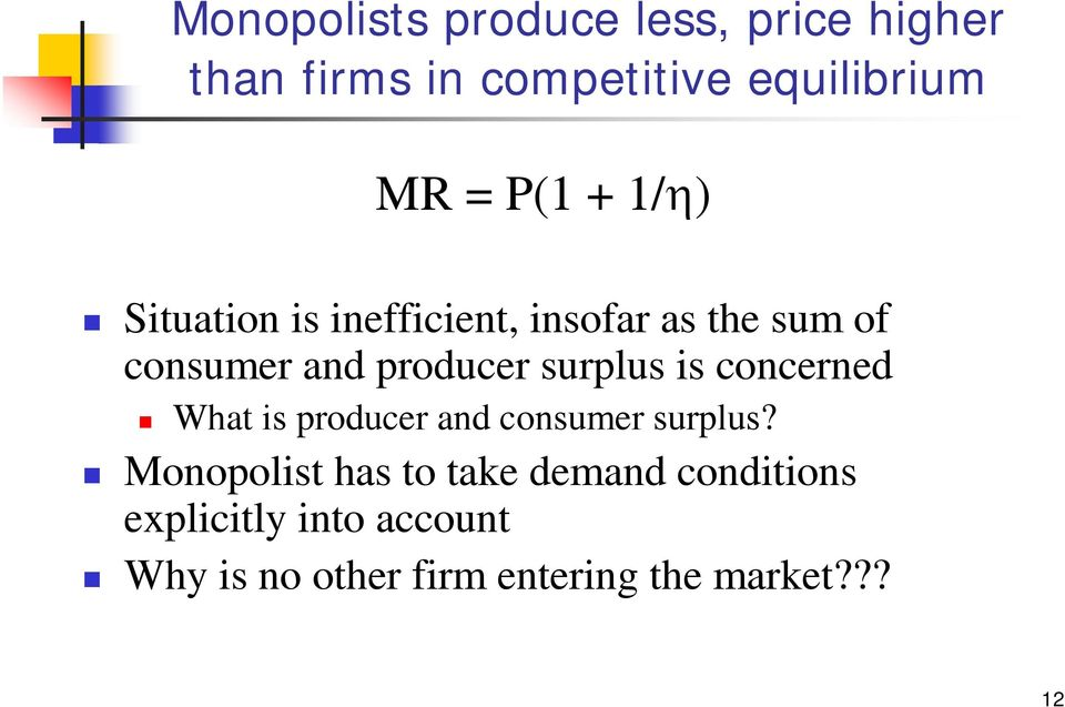 surplus is concerned What is producer and consumer surplus?