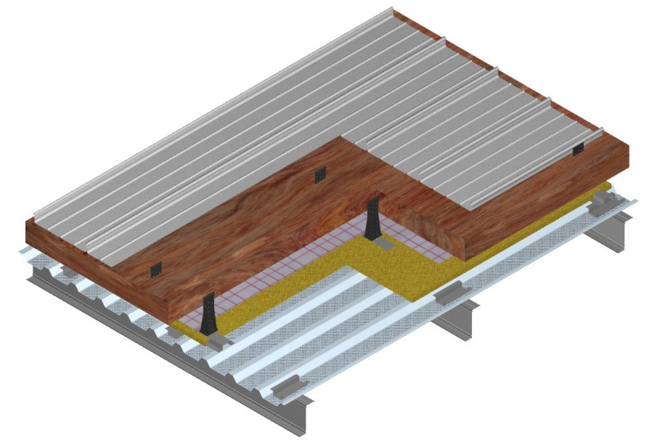 Kalzip Standing Seam Roof Clips