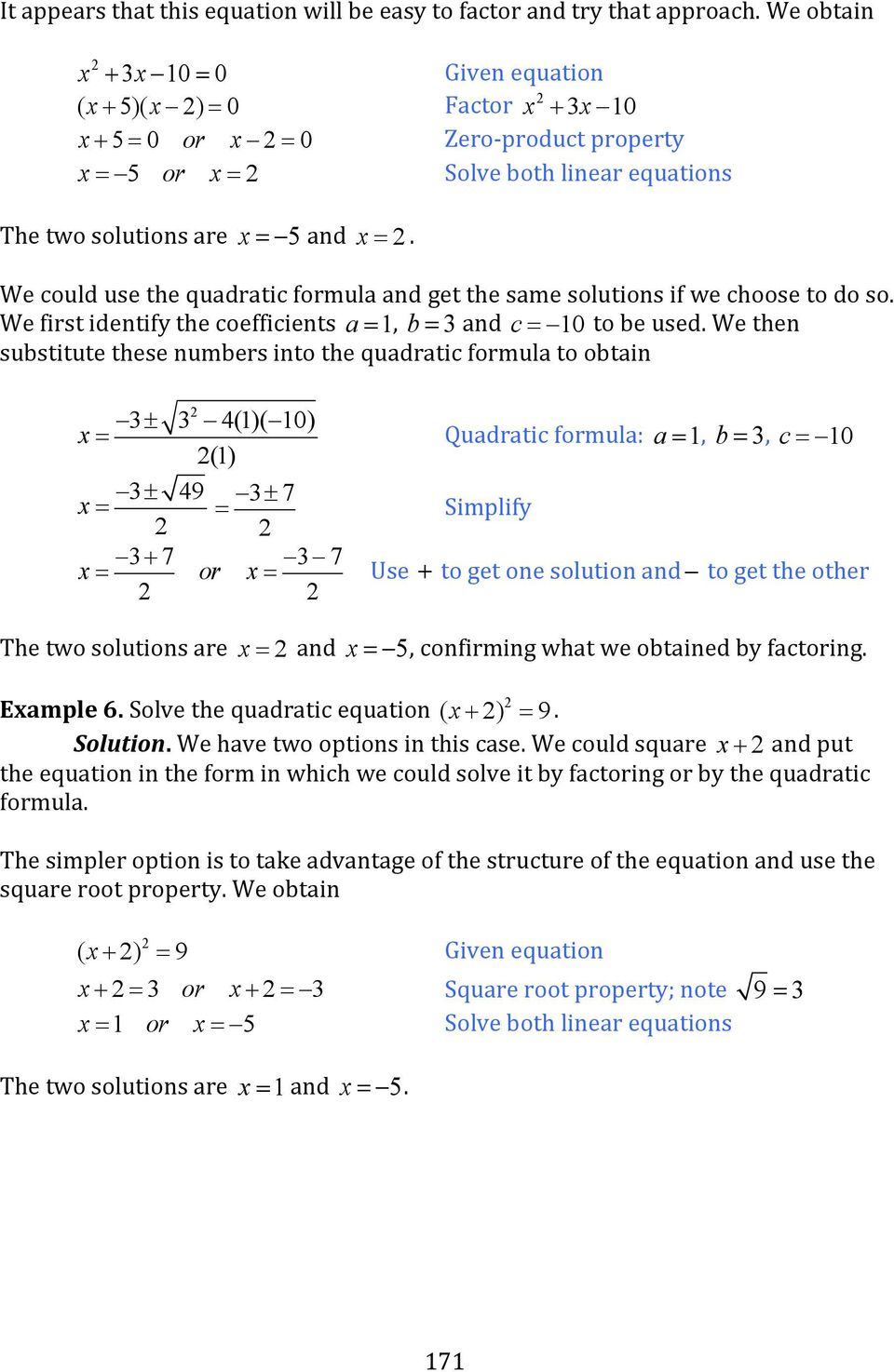 Solve The Following Quadratic Equation By Factoring X 2 3x