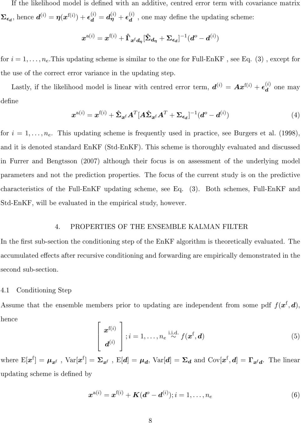 Uncertainty Quantication in the Ensemble Kalman Filter - PDF