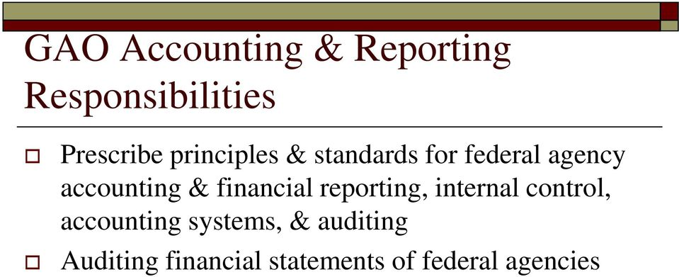financial reporting, internal control, accounting