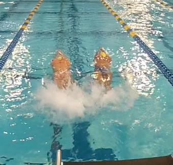 Balance Sequence All swimmers (but most importantly the males) are then instructed to create the line, pulling the body into a