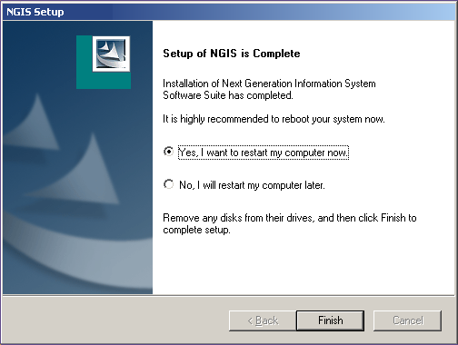 Sn Tool Softwre Applitions Instlltion nd Updtes Updte the NGIS Tool Updte PC Applition Updte the NGIS Tool Updte PC Applition After the NGIS Tool Updte pplition is instlled on PC, it will hek for n