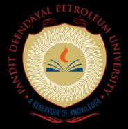 Pandit Deendayal Petroleum University University Ranking: 55 th in India & 1 st in Gujarat as declared by NIRF, MHRD Govt. of India B. Tech.