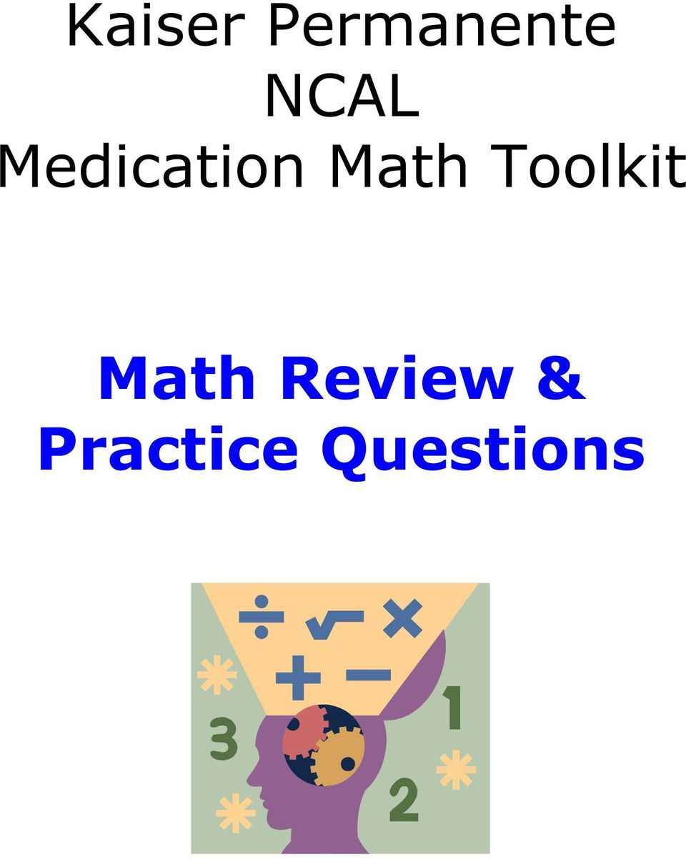 Math Toolkit Math
