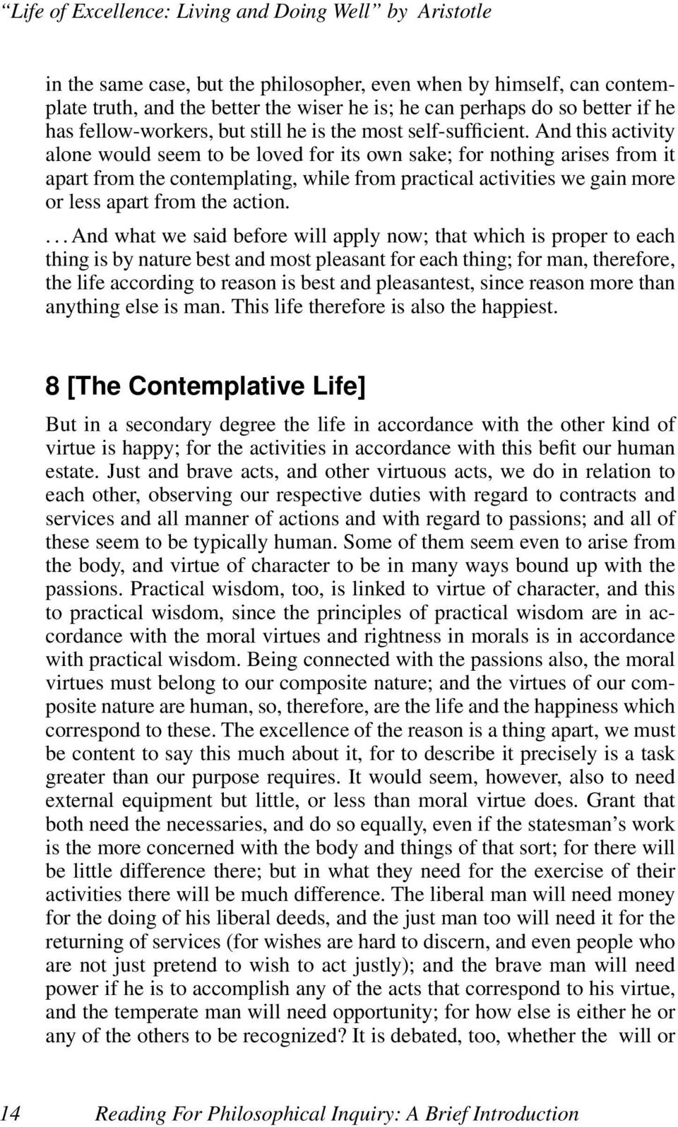nichomachean ethics essay 4 the blackwell guide to aristotle's nicomachean ethics, edited by richard kraut 5 the  an essay on aristotle's nicomachean ethics (2004.