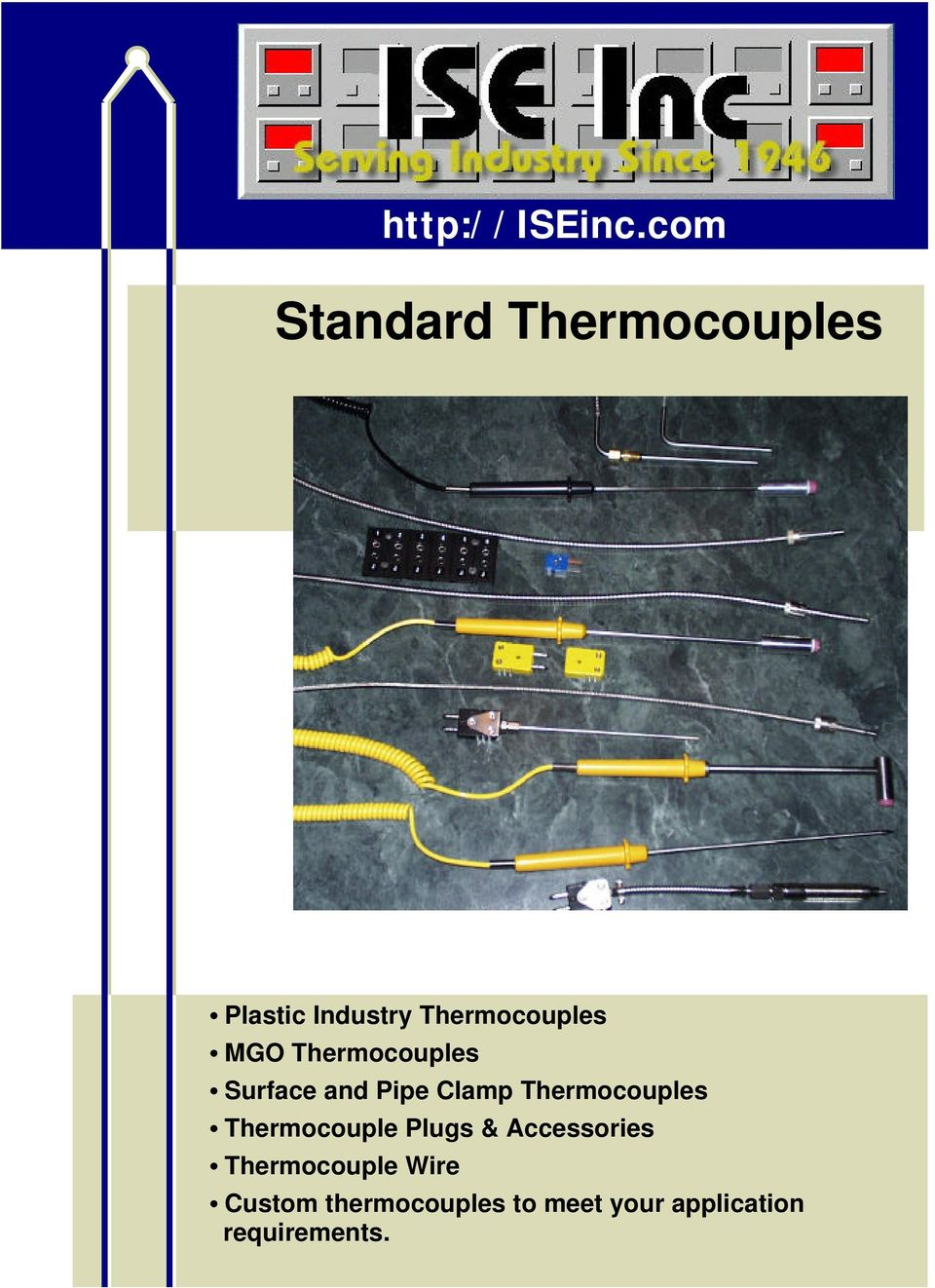 MGO Thermocouples Surface and Pipe Clamp Thermocouples