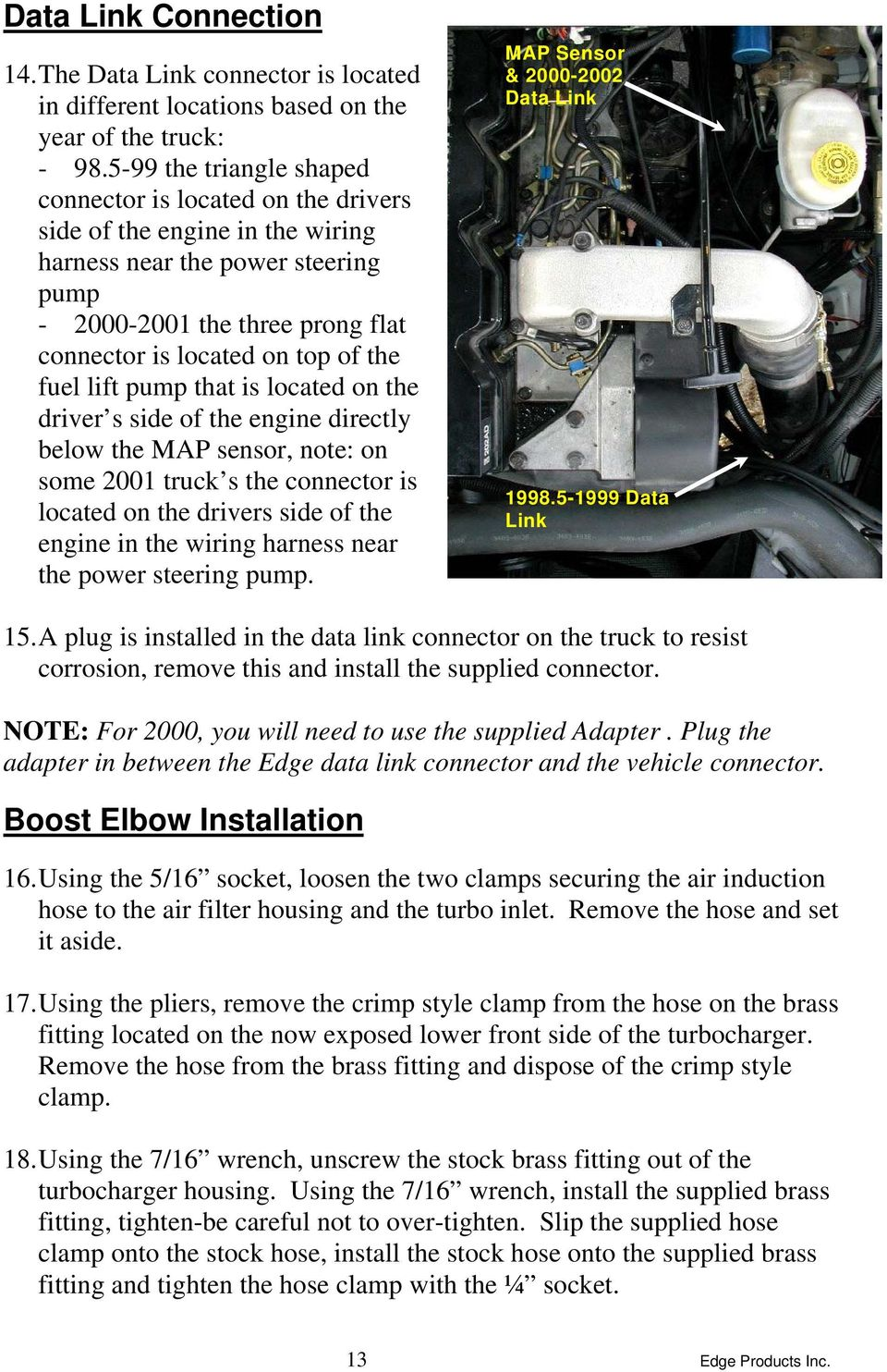 Dodge cummins 59l edge comp module installation instructions fuel lift pump that is located on the driver s side of the engine directly below publicscrutiny Choice Image