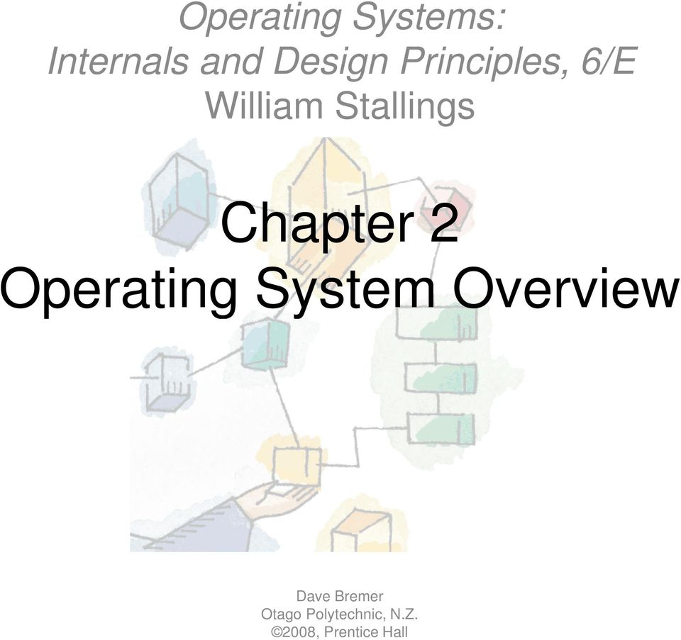 2 Operating System Overview Dave Bremer