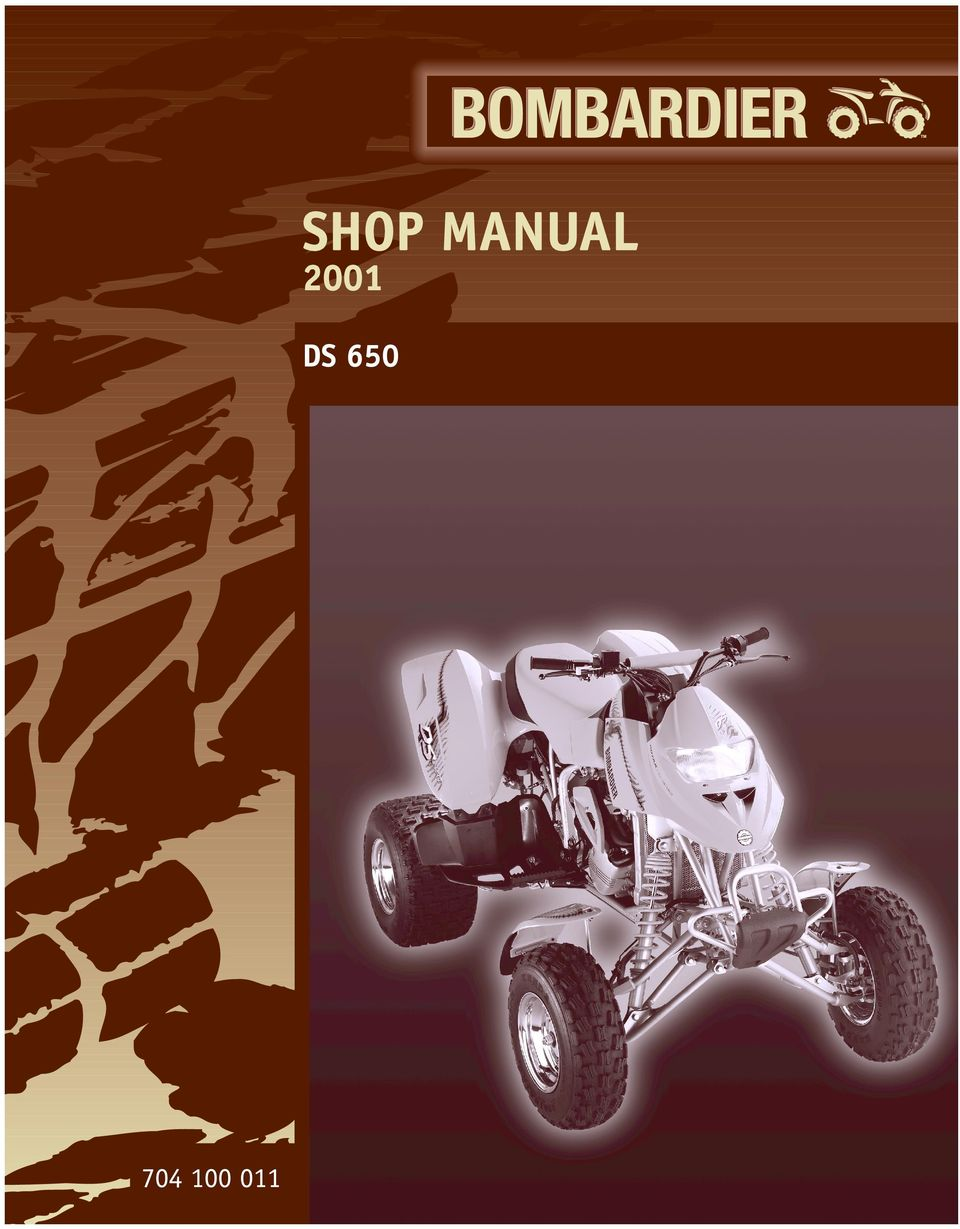 2 Shop Manual 00 DS 650