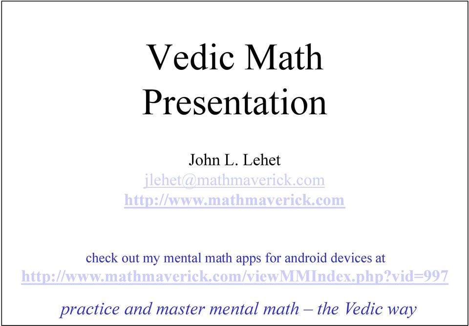 com check out my mental math apps for android devices at
