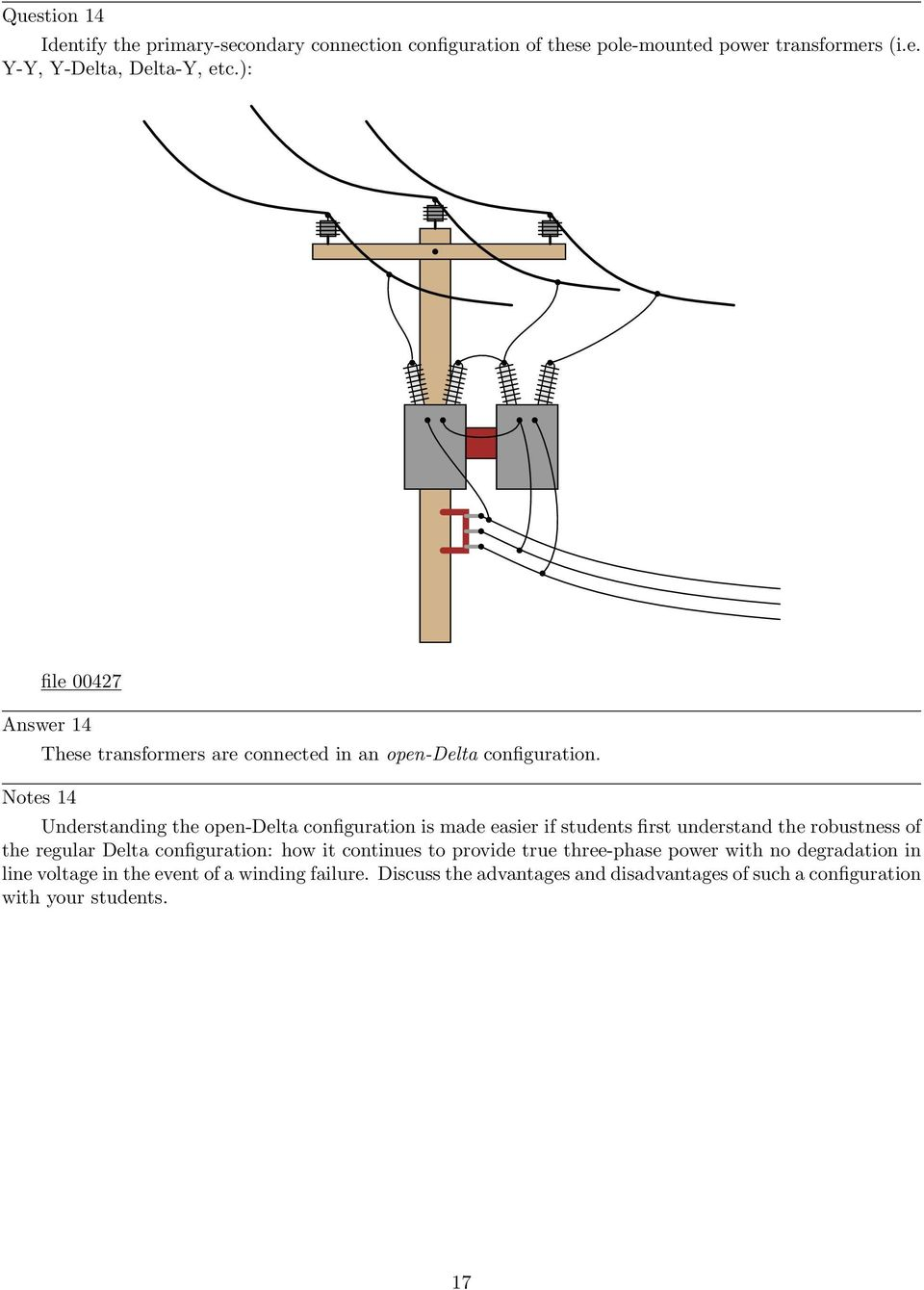 Delta And Wye 3 Phase Circuits Pdf Transformer Wiring Diagram Understanding The Open Configuration Is Made Easier If Students First Understand Robustness Of