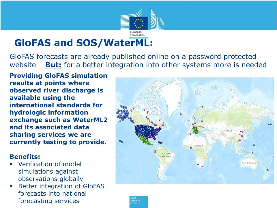 international standards for hydrologic information exchange such as WaterML2 and its associated data sharing services we are currently