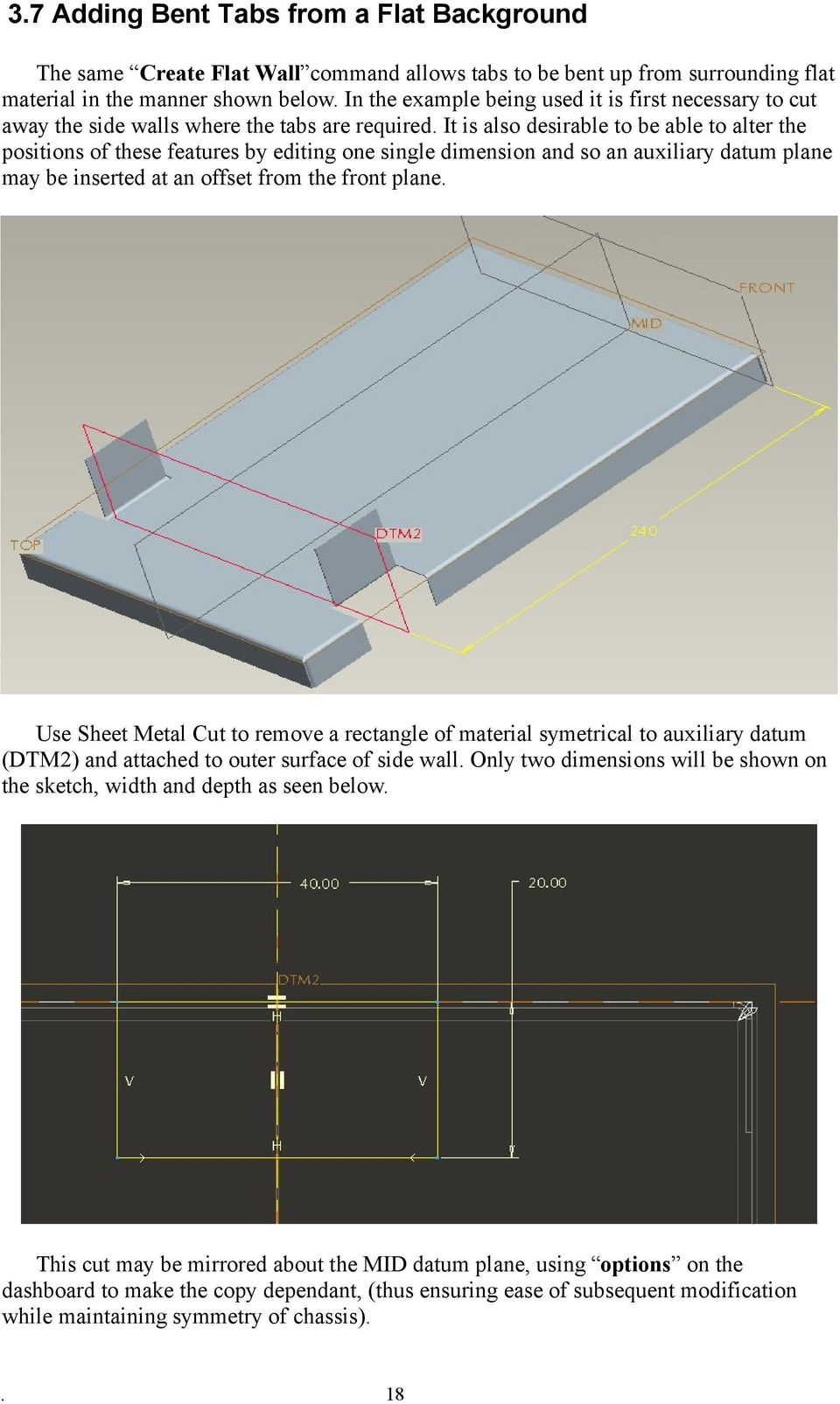 sheet metal design considerations pdf