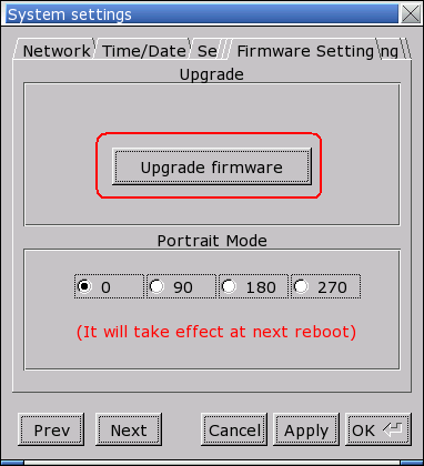4 Upgrade firmware Follow the steps to upgrade firmware. 1. Save the NK.