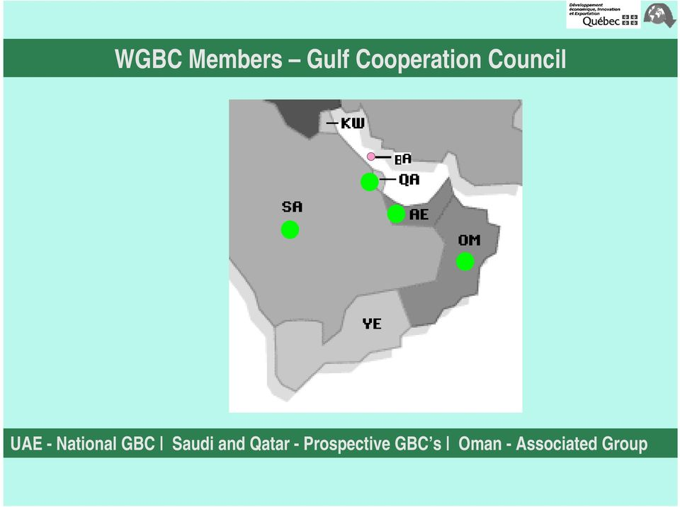 National GBC Saudi and Qatar