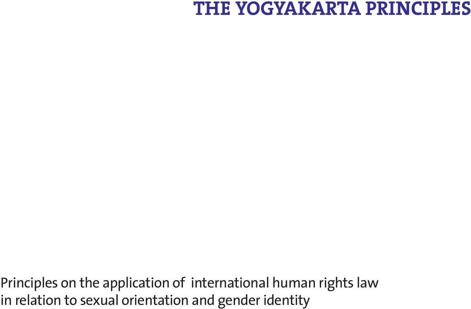 human rights law in relation to