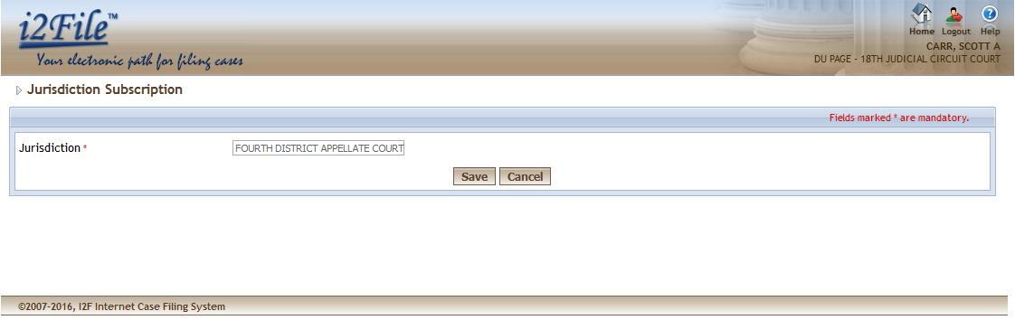 logged-in attorney is not subscribed. Attorney Number- It must be numeric.