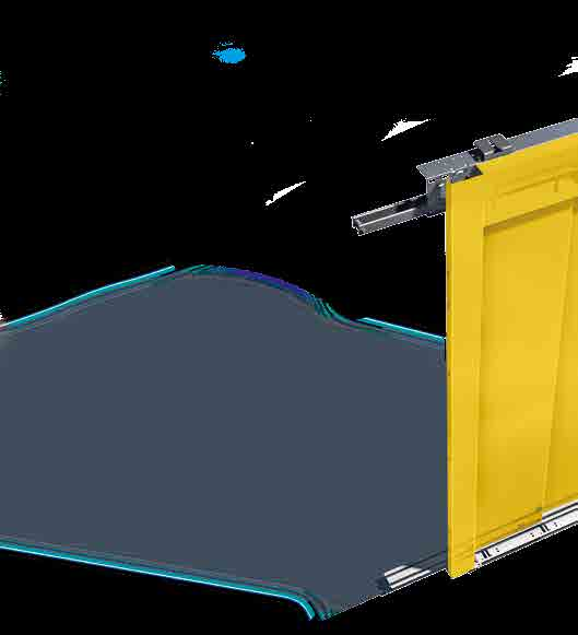 Wittur Hydra / Hydra EVO is the door system designed for the maximum flexibility.