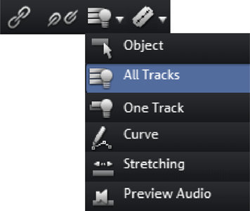 If the cut edit was not accurate, don't worry; you can use the lower object handles to stretch or shorten the remaining objects to recover or exclude material from the deleted section.