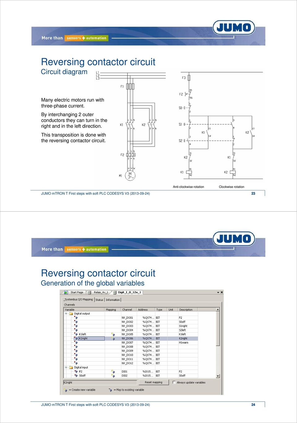 Welcome  JUMO mtron T  Average calculation  First steps with soft