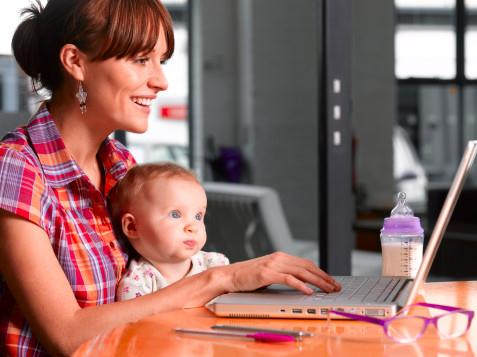 69% of European Mums are online and spend 13.