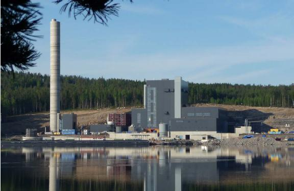 Large Scale CFB for Cofiring Peat and Clean Biomass (CHP) 200MW e Jyväskylä, Finland Customer: Jyväskylän Energia Oy (JE) Owned 100 % by Jyväskylä city Combined heat and power plant (CHP) Jyväskylä