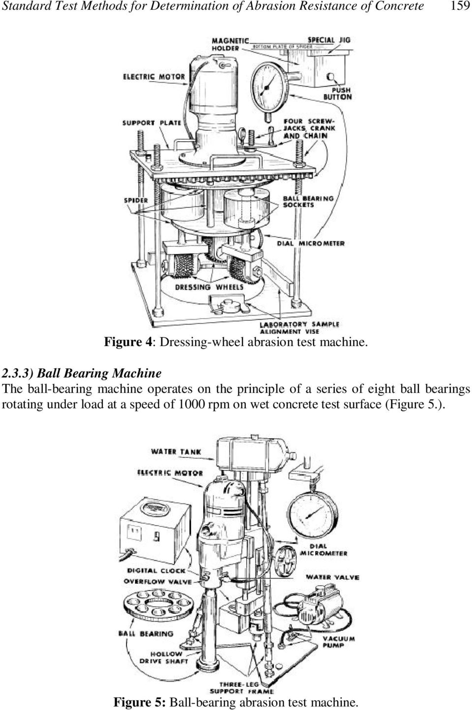 3) Ball Bearing Machine The ball-bearing machine operates on the principle of a series of