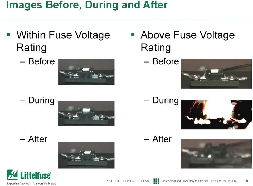 Before Above Fuse Voltage