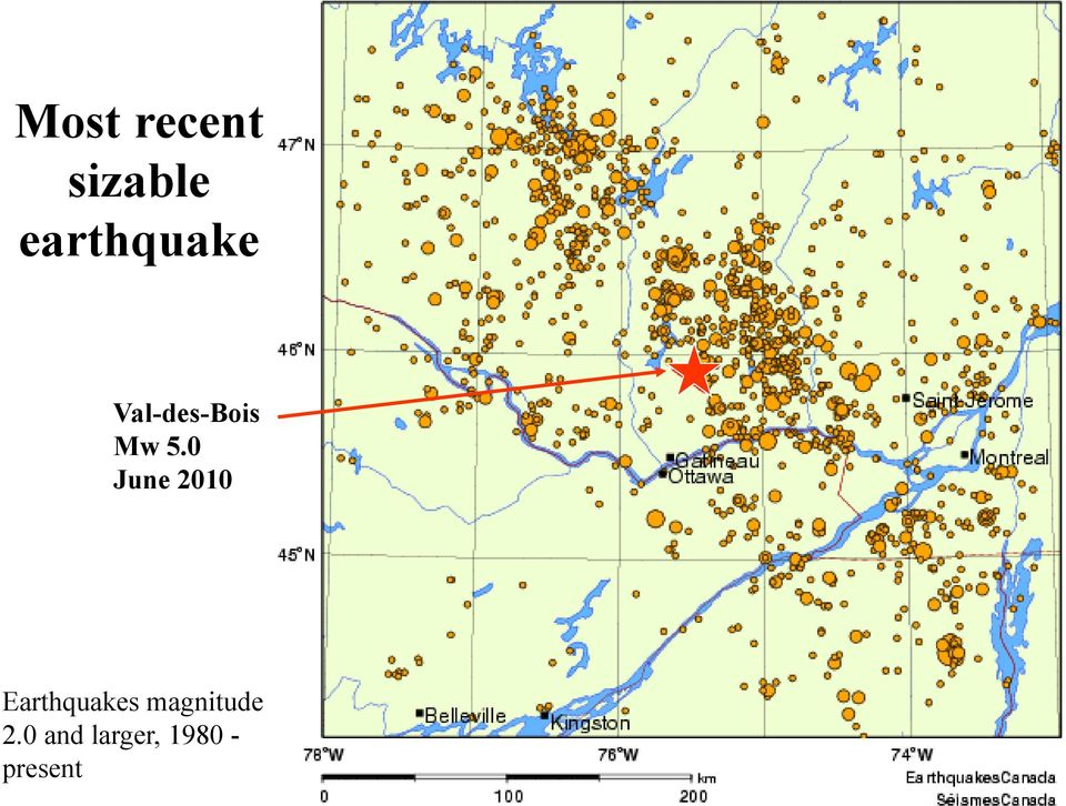 0 June 2010 Earthquakes