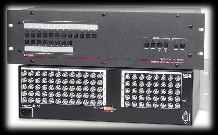 Matrix Switch Description Dedicated hardware switchboard Multiple input sources Multiple output targets May duplicate 1