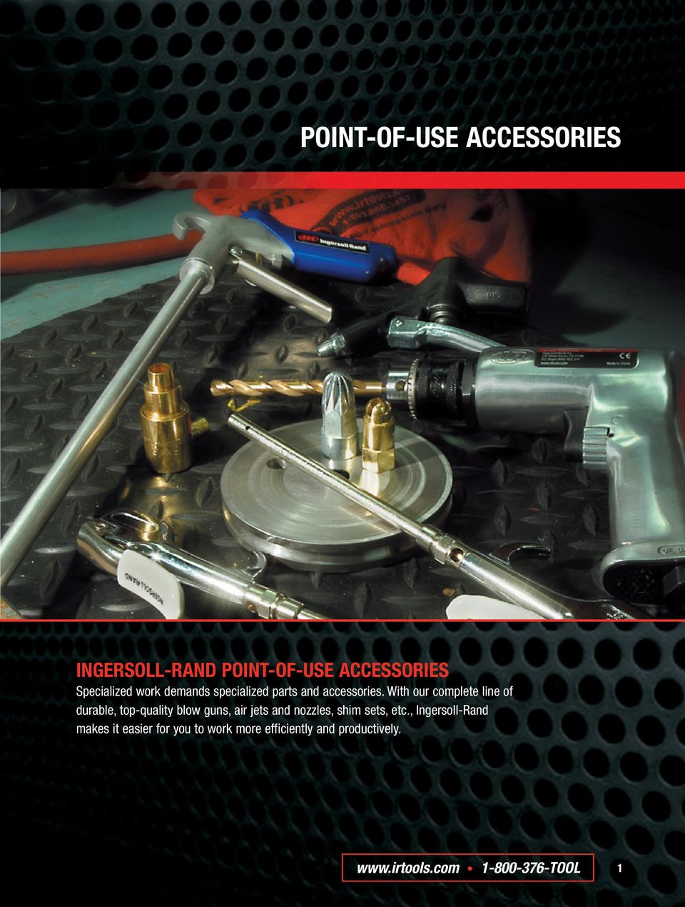 With our complete line of durable, top-quality blow guns, air jets and
