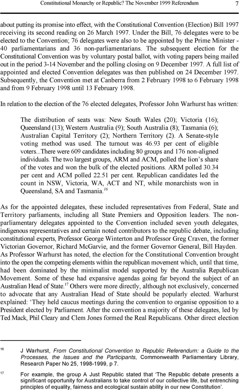 australia should become a republic not a constitutional monarchy essay Constitutional perspectives on an australian republic essays in honour of  professor george winterton  australia attempted to switch from a constitutional  monarchy to a republic  (pdf) files - which can be downloaded from the  adobe web site  click here to download the viewer if you do not have it.
