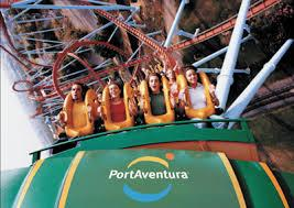 Port Aventura South of Barcelona, it is one of the most popular