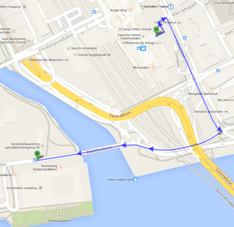 Social Program Information Stockholm City Hall WELCOME RECEPTION AND TOUR OF CITY HALL Thursday, 23 October 2014 Bus transfer meeting point: Taxi stop 2 (see Frescati Map) Departure: 17:30 Return: